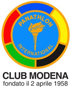 LOGO PANATHLON MODENA CLUB MODENA